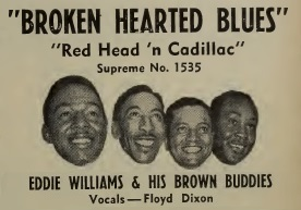 Image result for eddie williams and his brown buddies