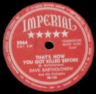 Dave bartholomew singles discography